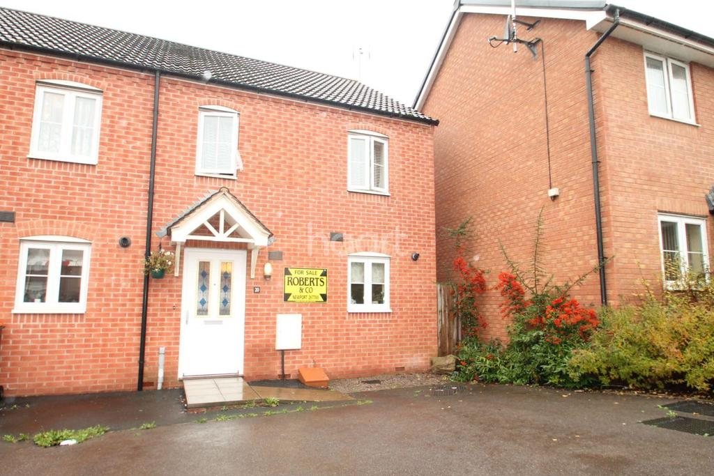 2 Bedrooms End Of Terrace House for sale in Seabreeze Drive, Newport