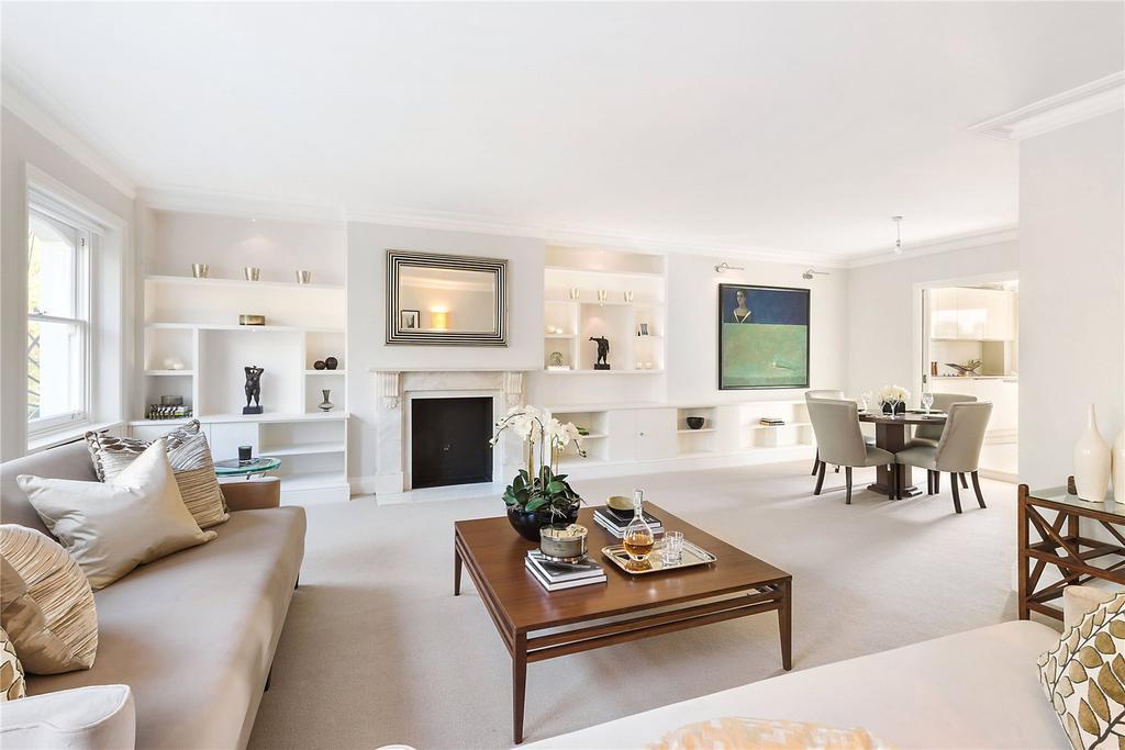 3 Bedrooms Flat for sale in Beaufort Gardens, Knightsbridge, London