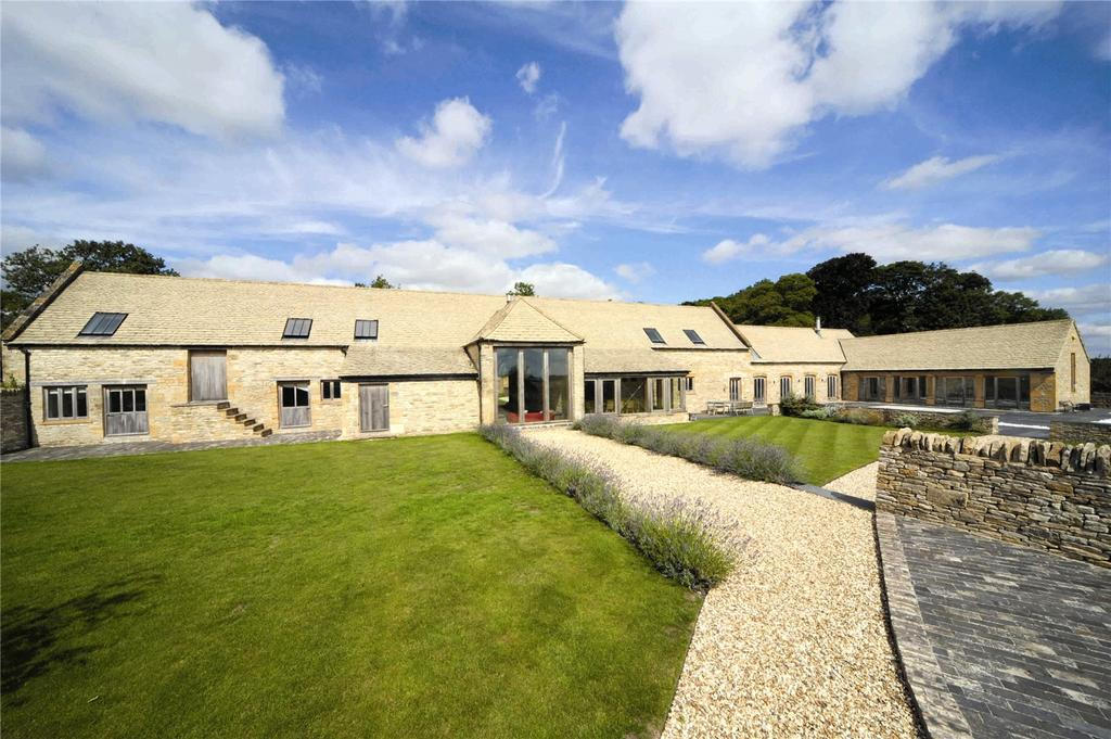 5 Bedrooms Barn Conversion Character Property for sale in Stow Road, Andoversford, Cheltenham, Gloucestershire