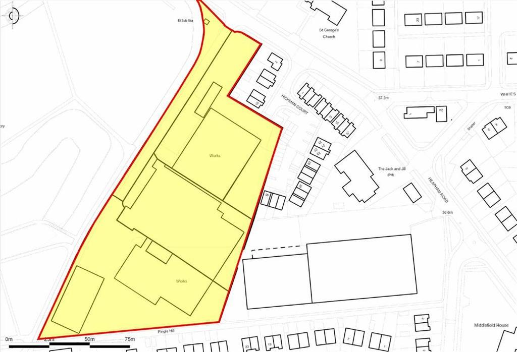 Land Commercial for sale in Heapham Road, Gainsborough, Lincolnshire