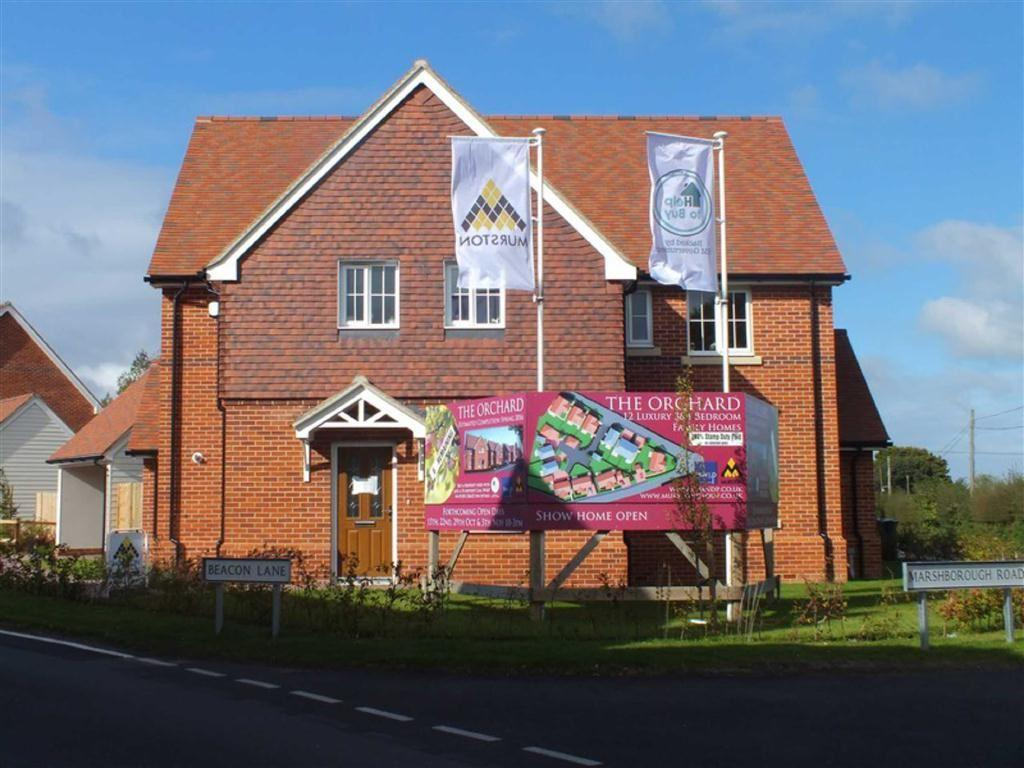 4 Bedrooms Detached House for sale in The Orchard, Woodnesborough, Nr Sandwich, Kent, CT13