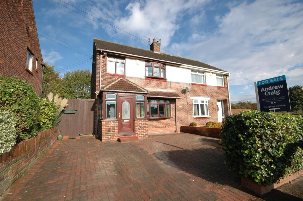 3 Bedrooms Semi Detached House for rent in Reay Crescent, Boldon Colliery