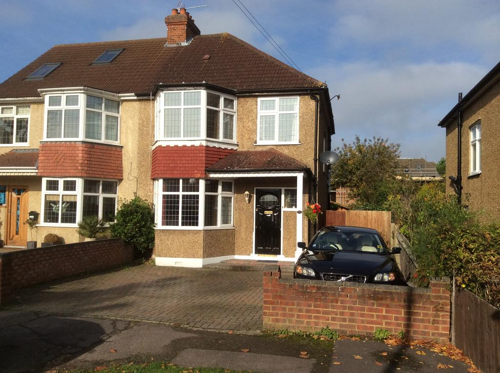 3 Bedrooms Semi Detached House for sale in Hemingford Road, Cheam SM3