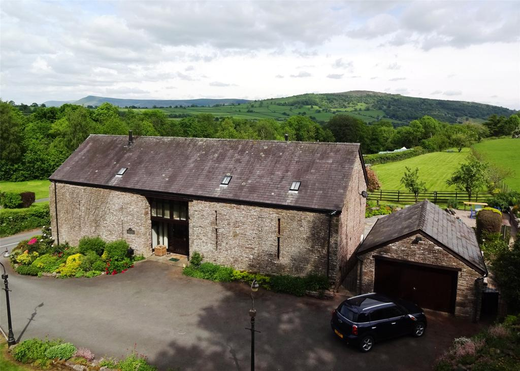 4 Bedrooms Barn Conversion Character Property for sale in Pencelli, Brecon, Powys