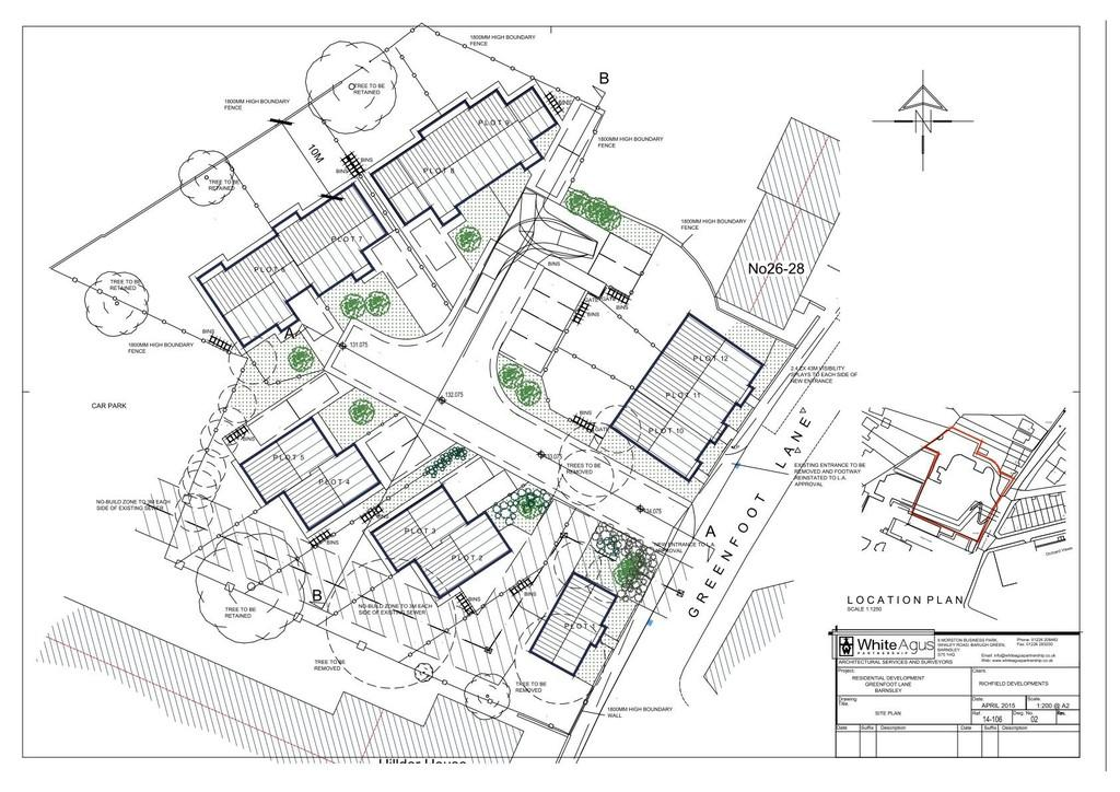 Land Commercial for sale in Greenfoot Lane, Old Town, Barnsley S75