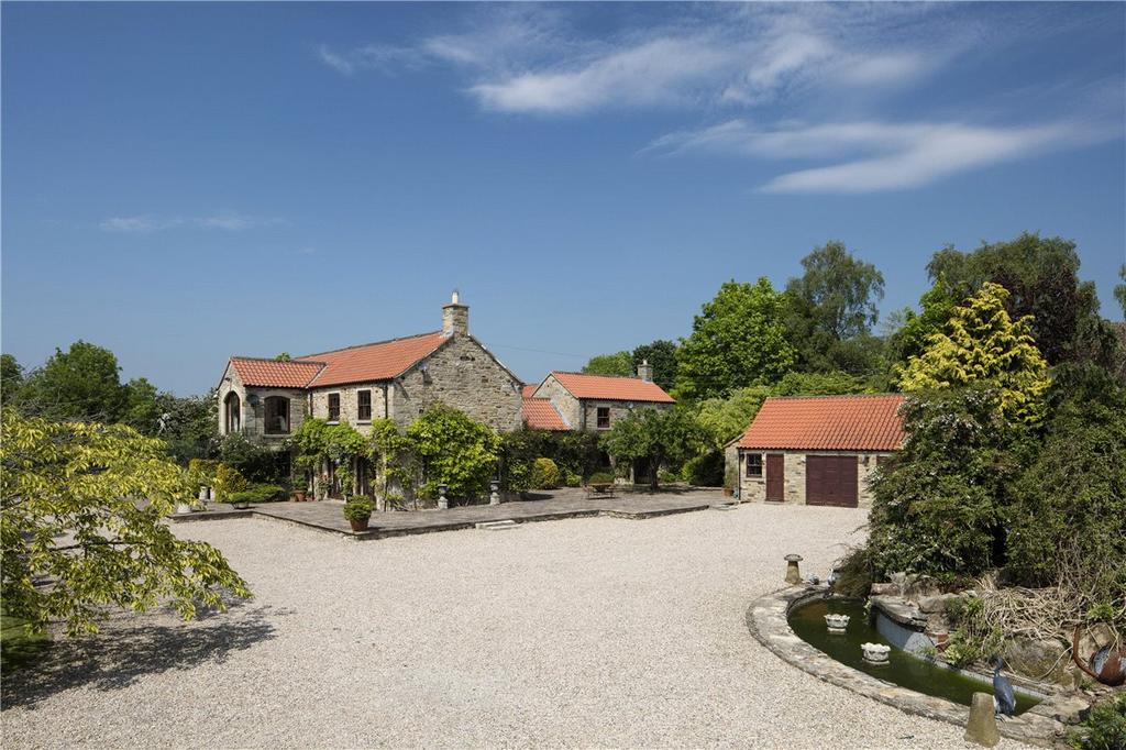 5 Bedrooms Detached House for sale in Plum Tree House, Moulton, Near Richmond, North Yorkshire, DL10