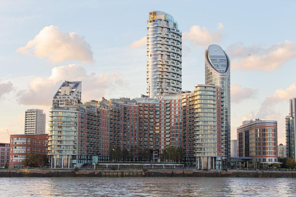 2 Bedrooms Flat for sale in Providence Tower, Canary Wharf, E14