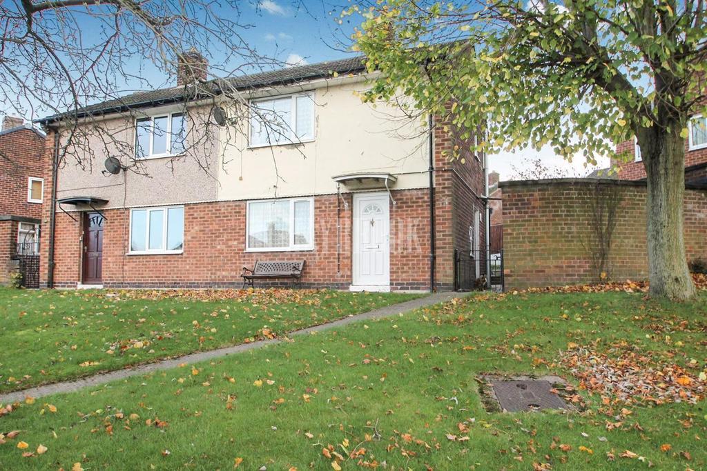 2 Bedrooms Semi Detached House for sale in Brow Crescent, Halfway