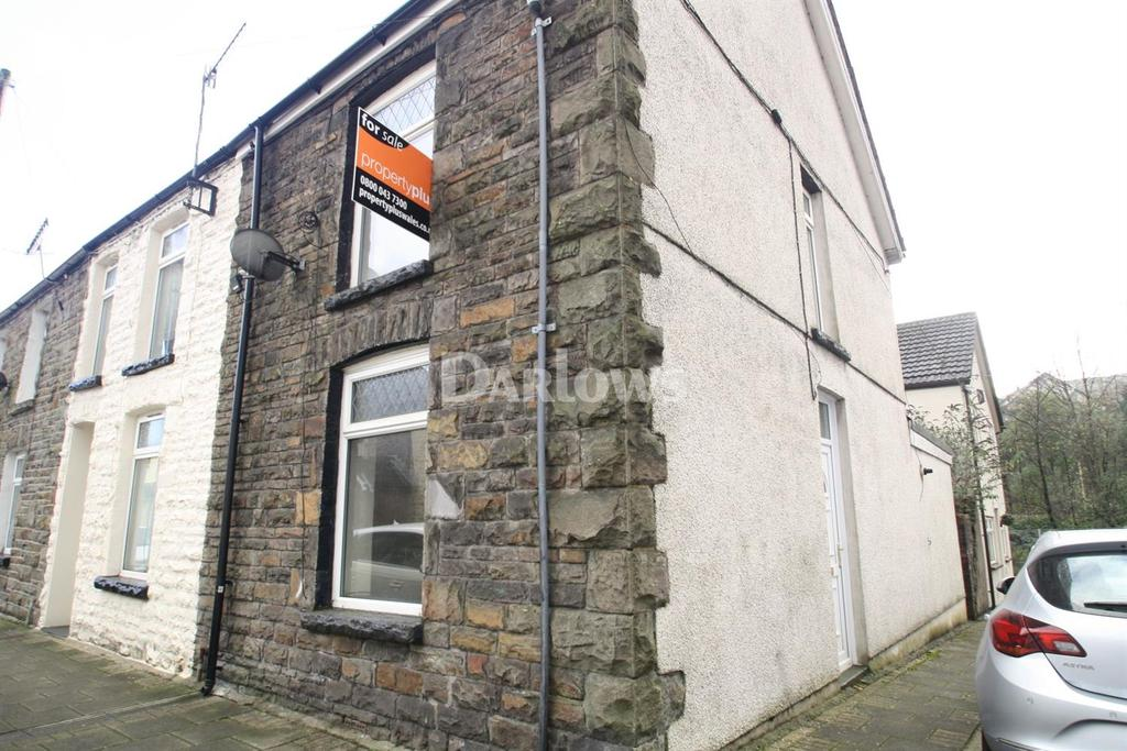 2 Bedrooms End Of Terrace House for sale in Trealaw Road, Trealaw