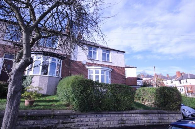 3 Bedrooms Semi Detached House for rent in Bingham Park Crescent, Sheffield, S11