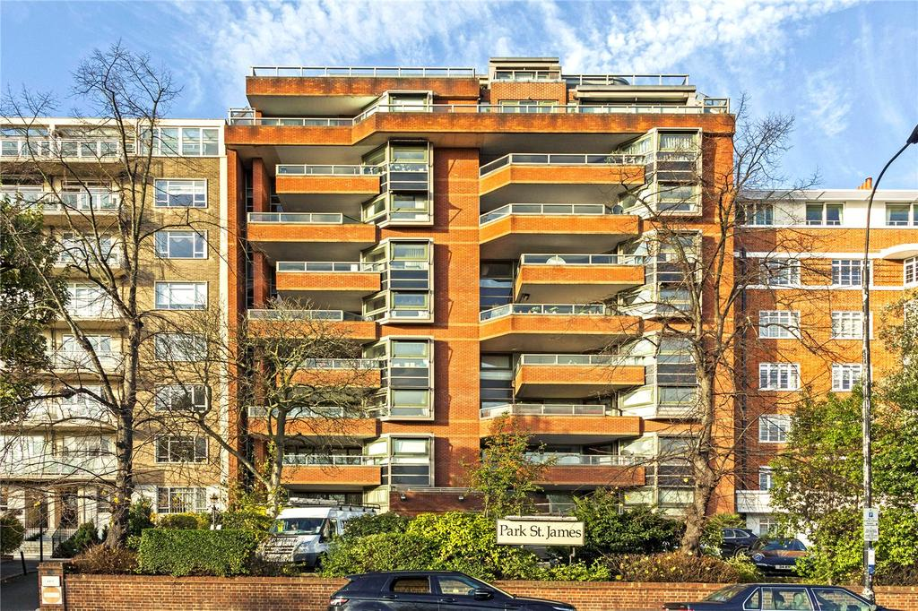 3 Bedrooms Flat for sale in Park St. James, St. James's Terrace, London
