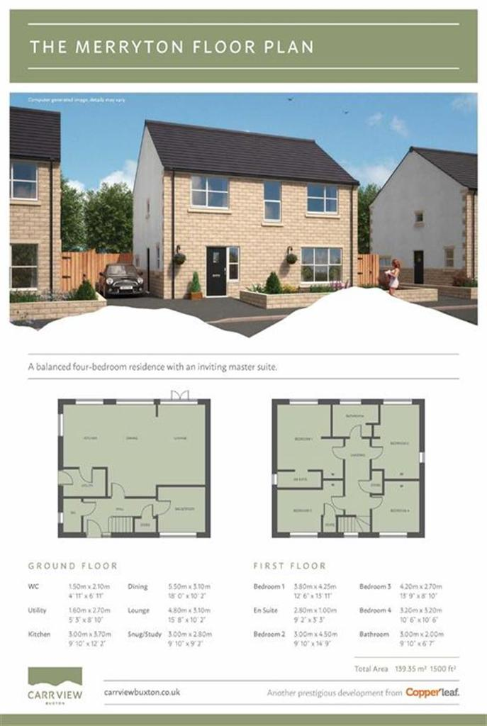 4 Bedrooms Detached House for sale in Carr Road, Buxton, Derbyshire
