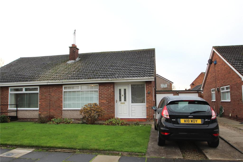 2 Bedrooms Semi Detached Bungalow for sale in Wellspring Close, Acklam