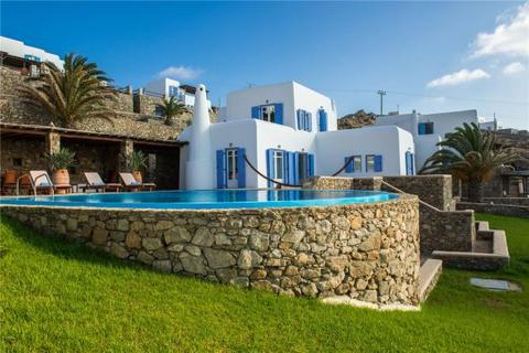 3 bedroom detached house  - Delos View Villa, Aleomandra, Mykonos Island