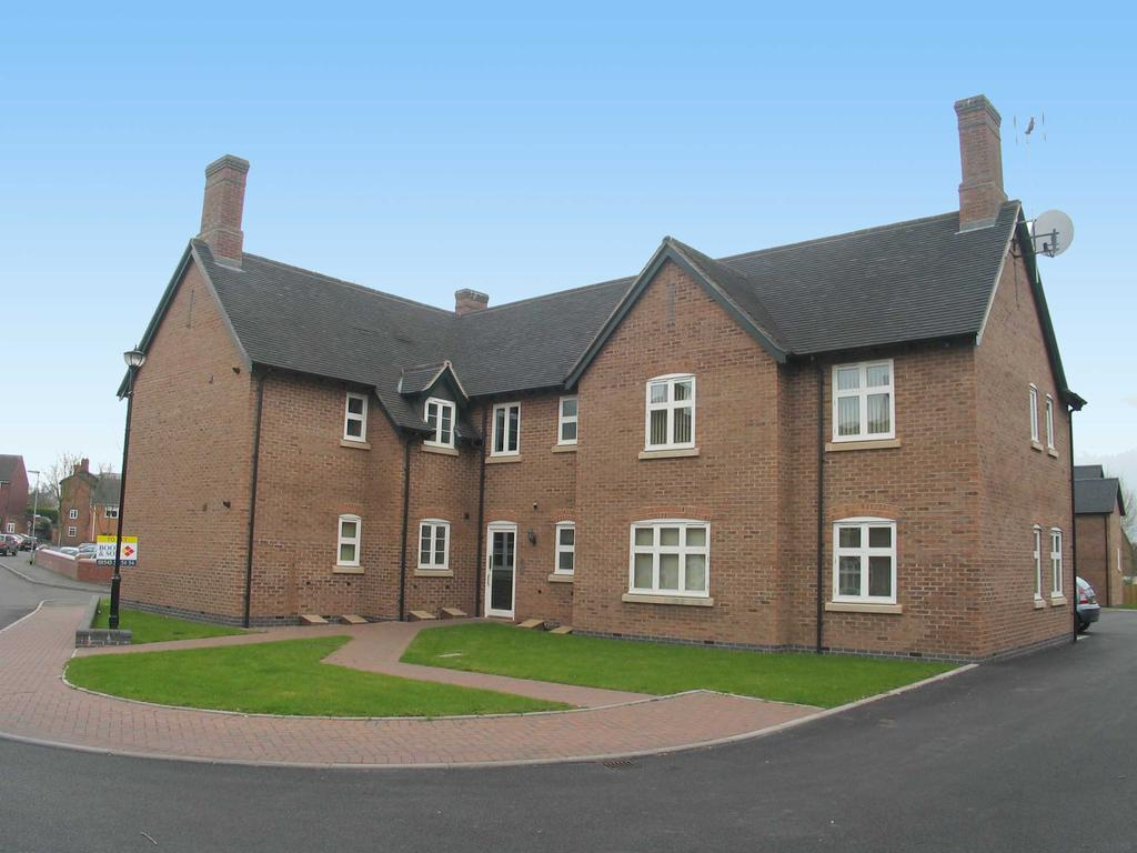 2 Bedrooms Apartment Flat for sale in Flat 5 Teddesley House, Clay Street, Penkridge, ST19 5NE