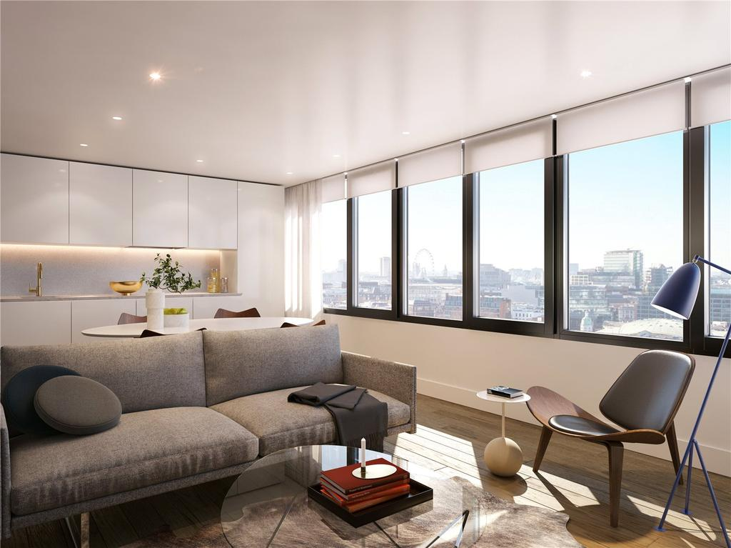 3 Bedrooms Flat for sale in Blake Tower, Fann Street, EC2Y