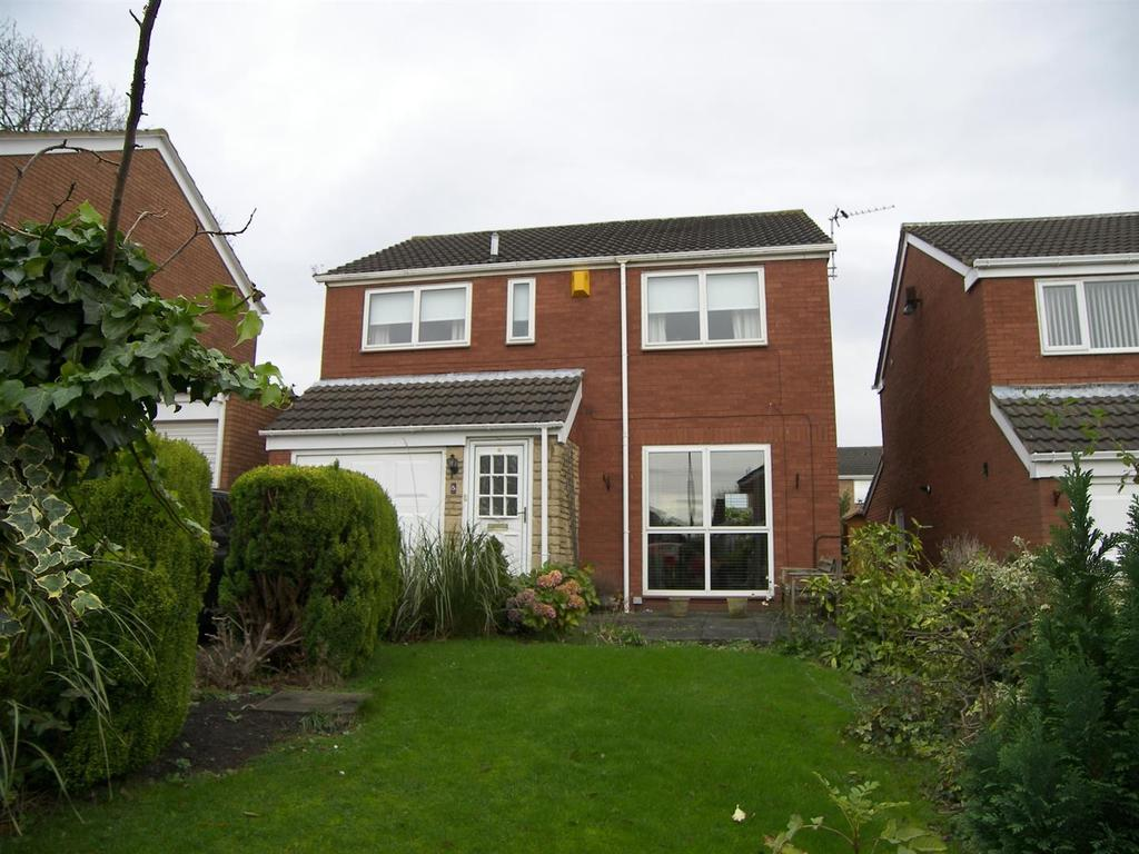 4 Bedrooms Detached House for sale in Cygnet Close, Nursery Park, Ashington