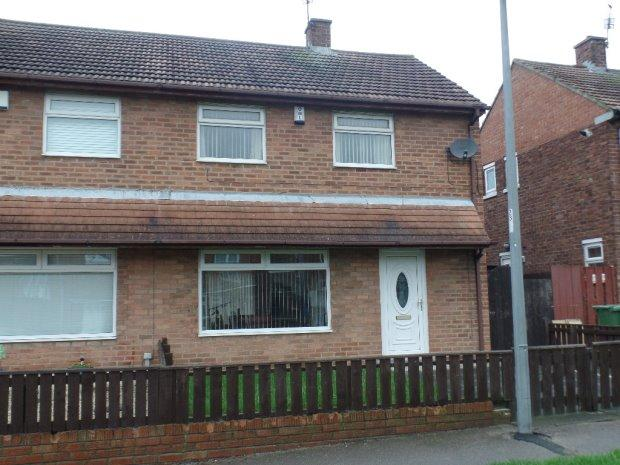 2 Bedrooms Semi Detached House for sale in BOWNESS CLOSE, PETERLEE, PETERLEE