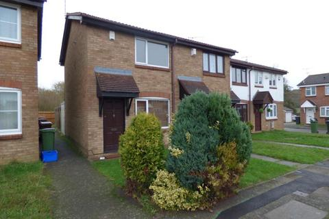 2 bedroom semi-detached house to rent - Hawkfields, Luton, Bedfordshire, LU2 7NW