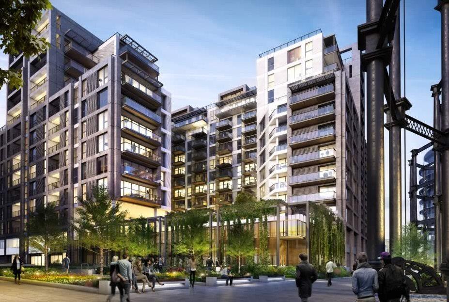 2 Bedrooms Flat for sale in Plimsoll Building , Handyside Street, London