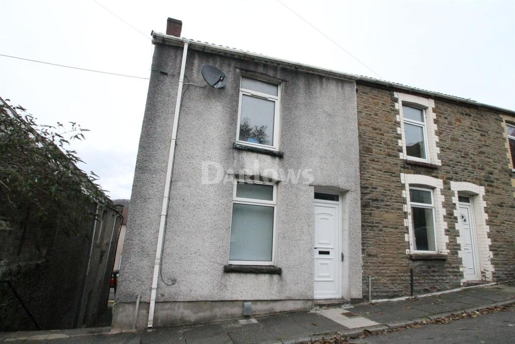 2 Bedrooms End Of Terrace House for sale in Madoc St, Pontypridd