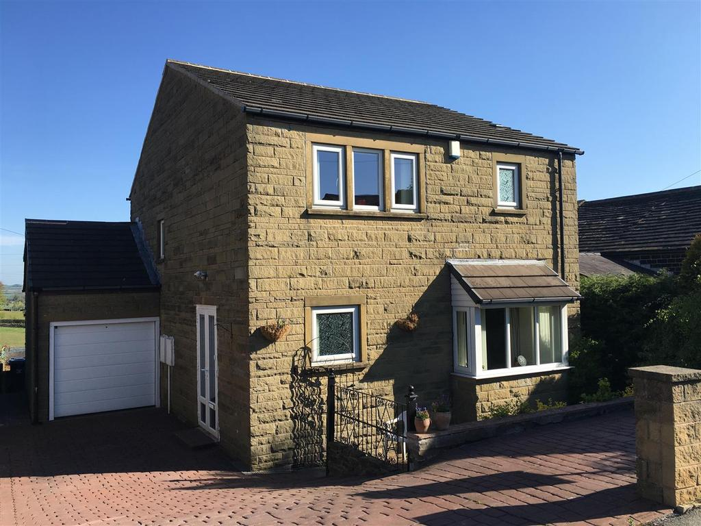 4 Bedrooms Detached House for sale in Top Road, Lower Cumberworth, Huddersfield, HD8 8PE
