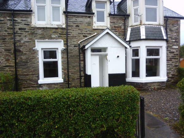 1 Bedroom Flat for sale in 1 Minard Place, Royal Crescent, Dunoon, PA23 7AH