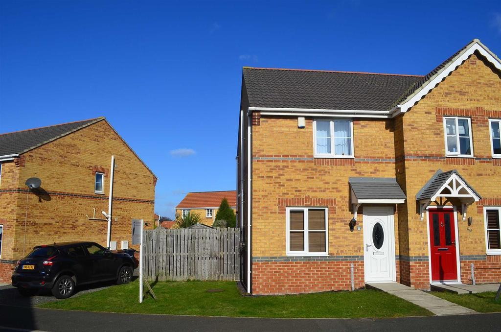 2 Bedrooms Semi Detached House for sale in Halesworth Drive, Havelock Park, Sunderland