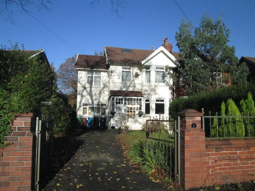 5 Bedrooms Semi Detached House for sale in Bramley Avenue, West Point, Manchester, M19