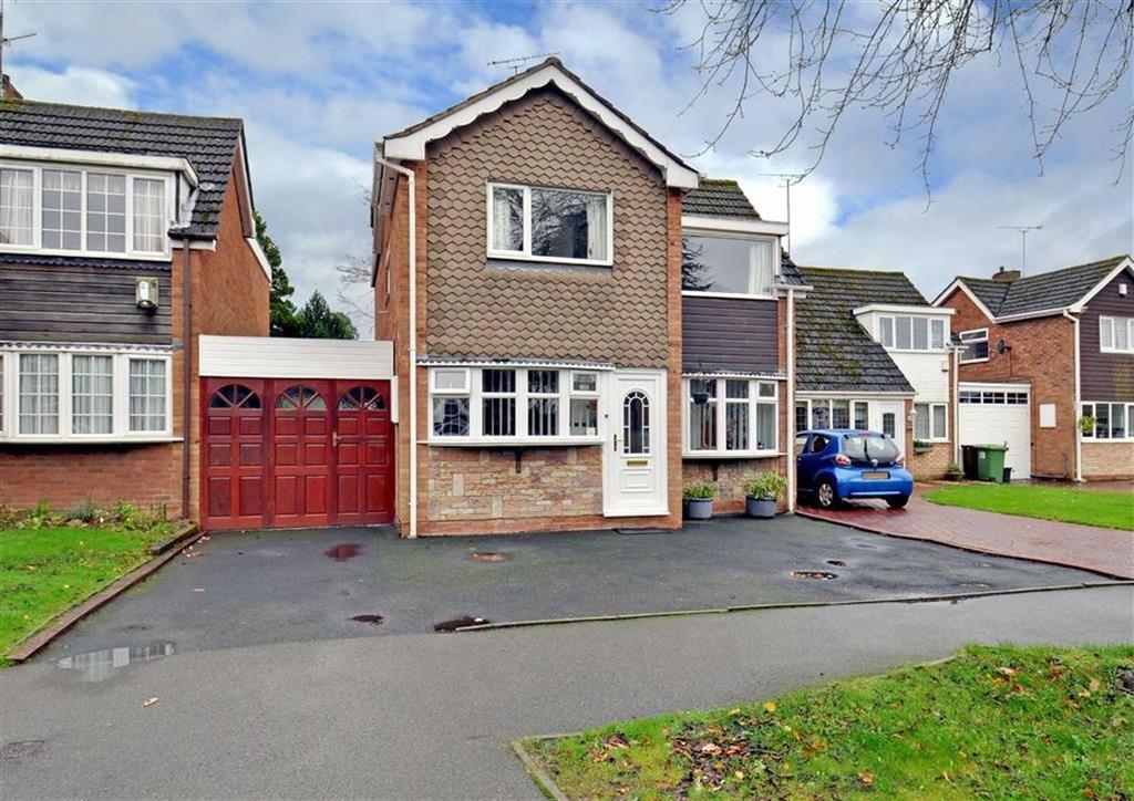 4 Bedrooms Link Detached House for sale in 14, Walnut Drive, Finchfield, Wolverhampton, West Midlands, WV3