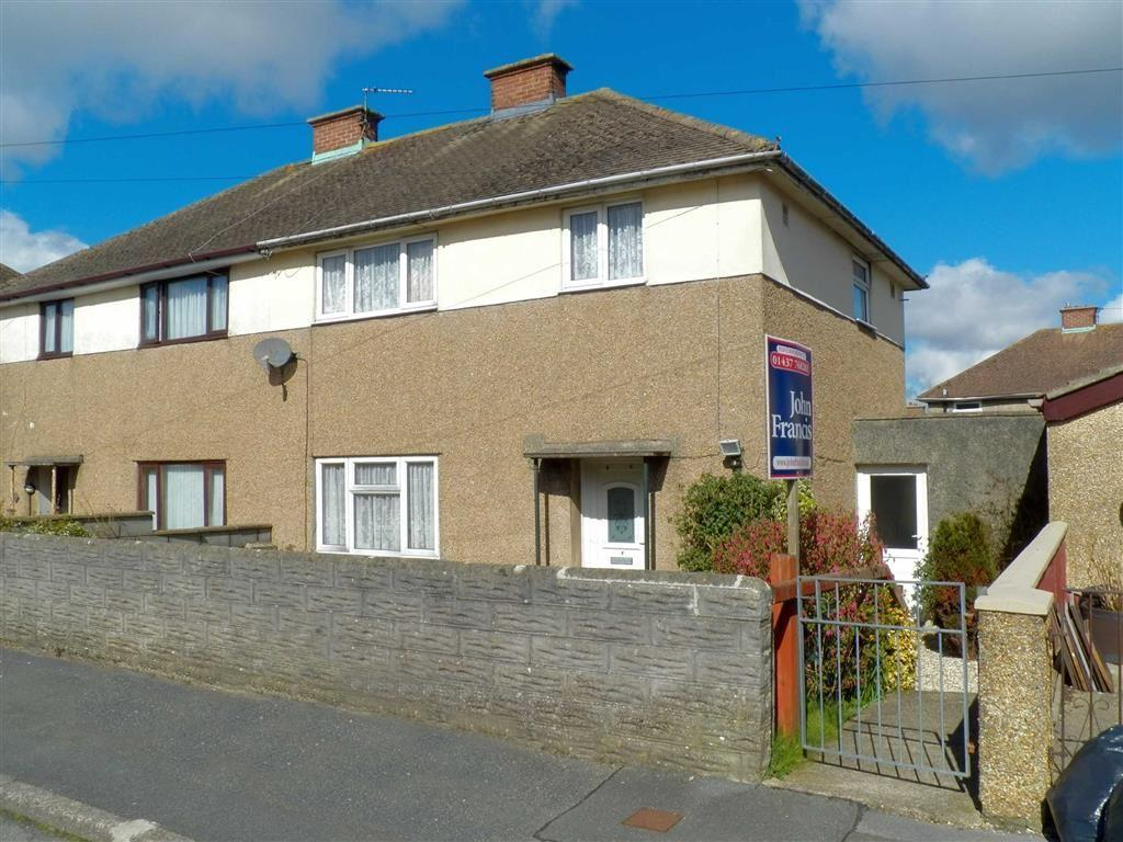 3 Bedrooms Semi Detached House for sale in Walters Avenue, Merlins Bridge, Haverfordwest