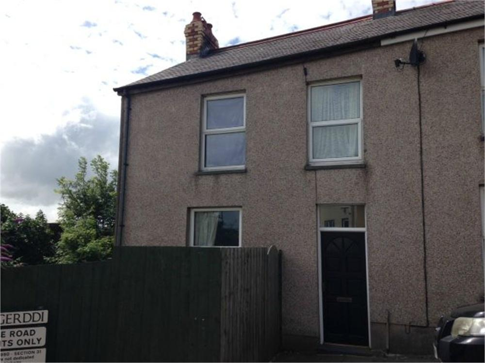 3 Bedrooms End Of Terrace House for sale in 1 Park Street, Goodwick, Pembrokeshire