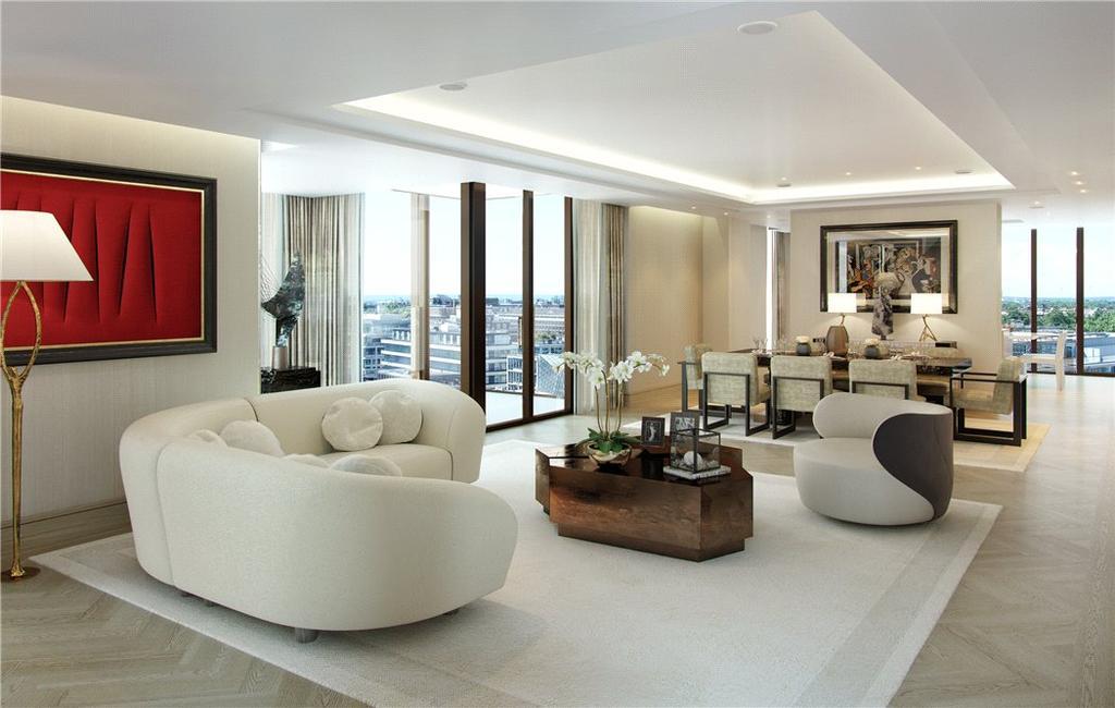 3 Bedrooms Flat for sale in Chiltern Street, Marylebone, London, W1U