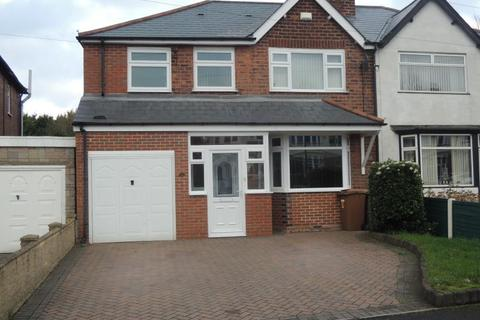 4 bedroom semi-detached house to rent - Delves Crescent, Walsall, WS5 4LR.