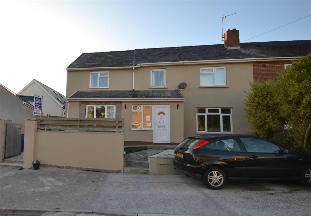 4 Bedrooms Semi Detached House for sale in Stranraer Avenue, Pennar, Pembroke Dock
