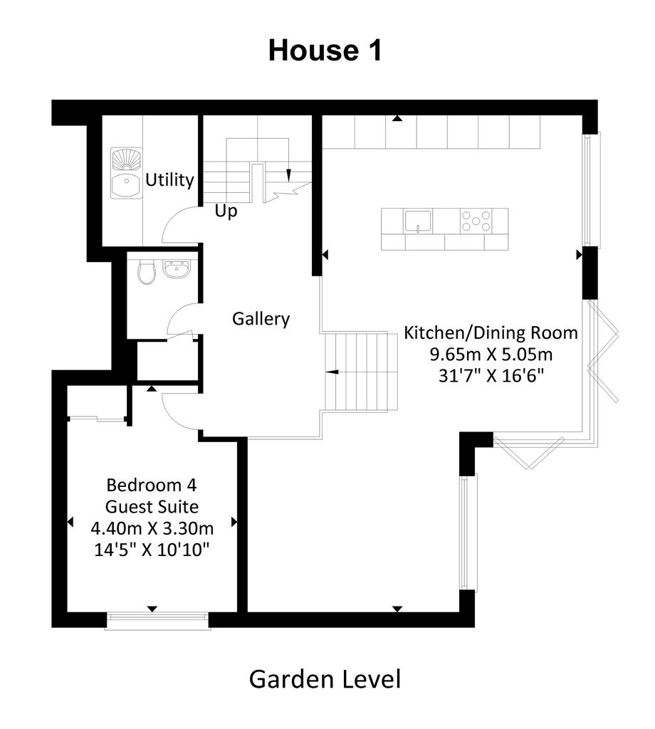 Floorplan 3 of 5: Garden Level