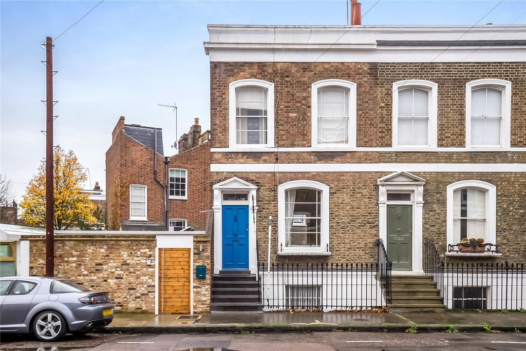 3 Bedrooms Terraced House for sale in St. Philip's Way, London, N1
