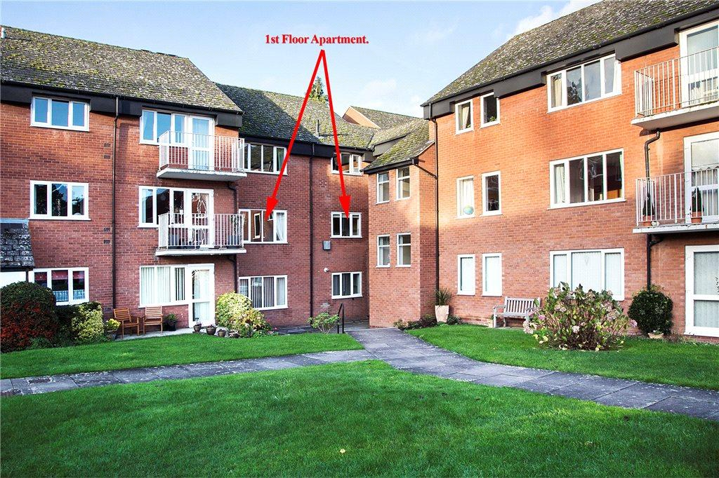 2 Bedrooms Apartment Flat for sale in Severn Court, Corbett Avenue, Droitwich, Worcestershire, WR9