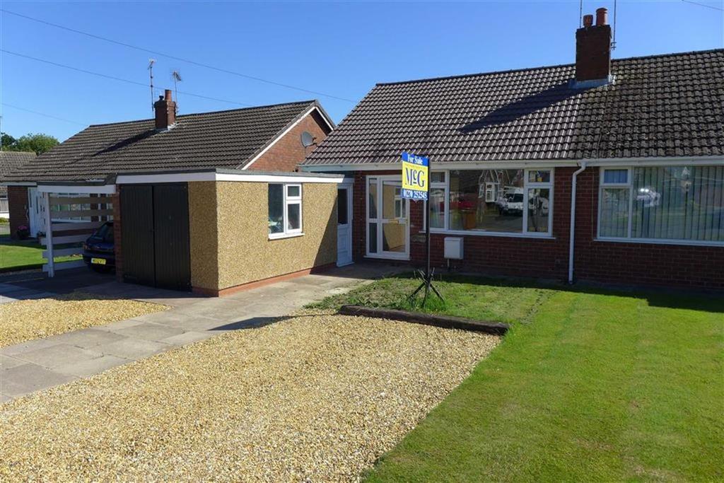 2 Bedrooms Semi Detached Bungalow for sale in Shelley Drive, Wistaston, Crewe