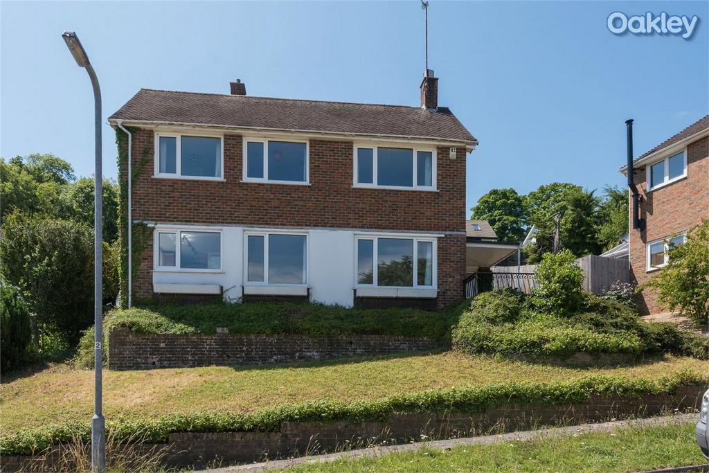 4 Bedrooms Detached House for sale in Shepherds Croft, Withdean, Brighton, East Sussex