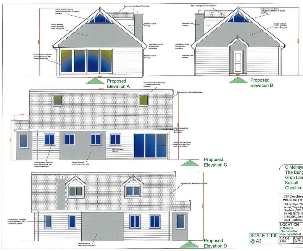Land Commercial for sale in Building Plot, Adj The Bungalow, Kelsall, CW6 0QU