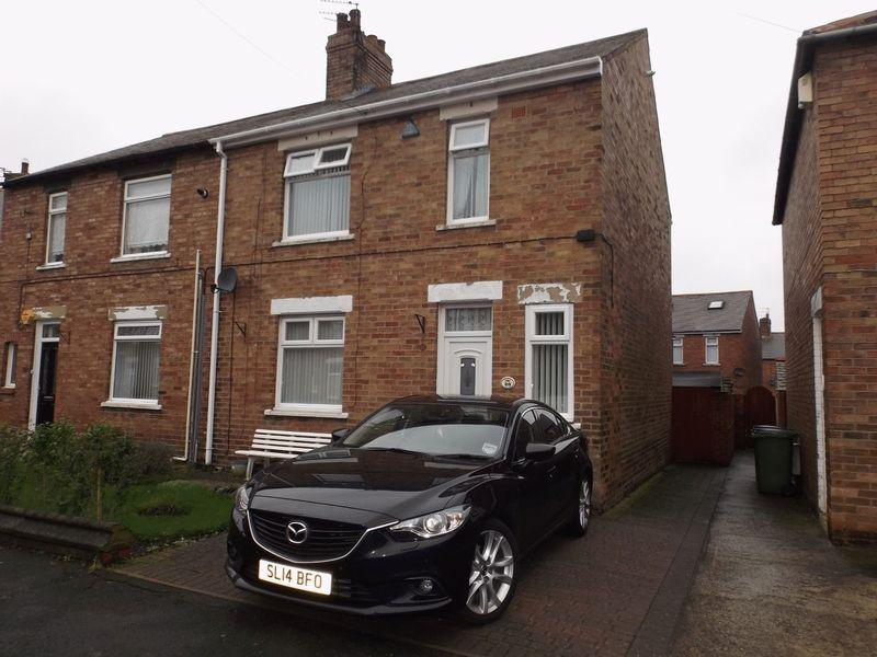 4 Bedrooms Semi Detached House for sale in Lily Avenue, Bedlington