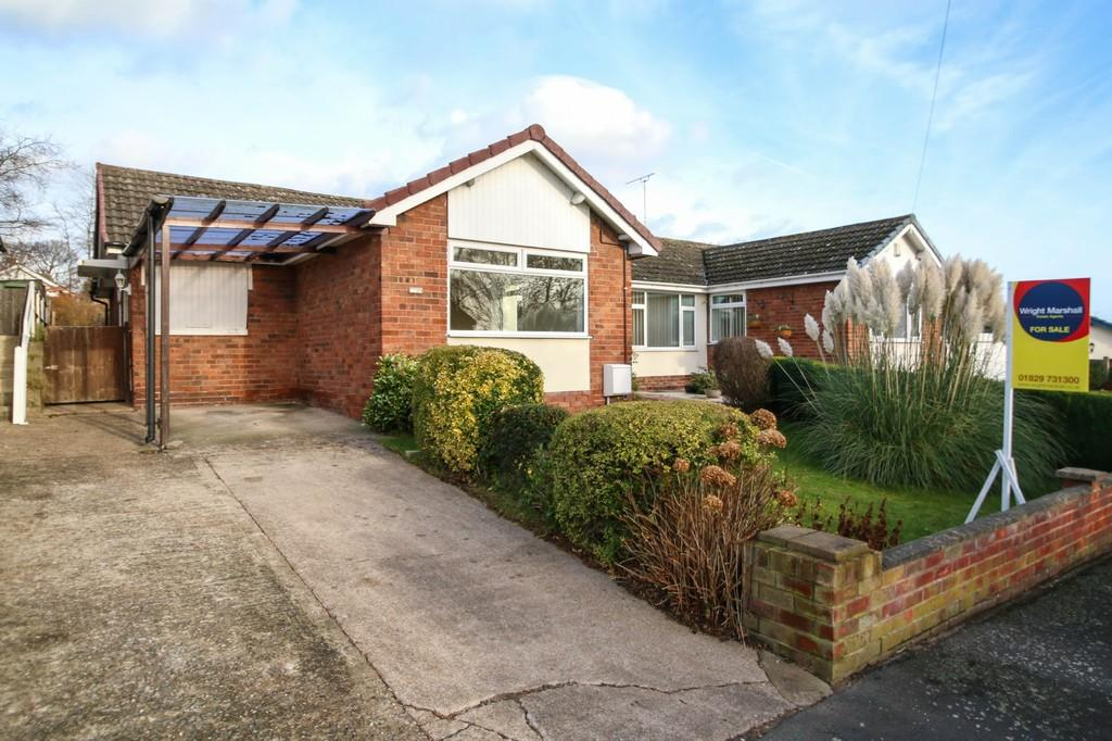 2 Bedrooms Semi Detached Bungalow for sale in 9 Hallfields Road, Tarvin, CH3 8LL