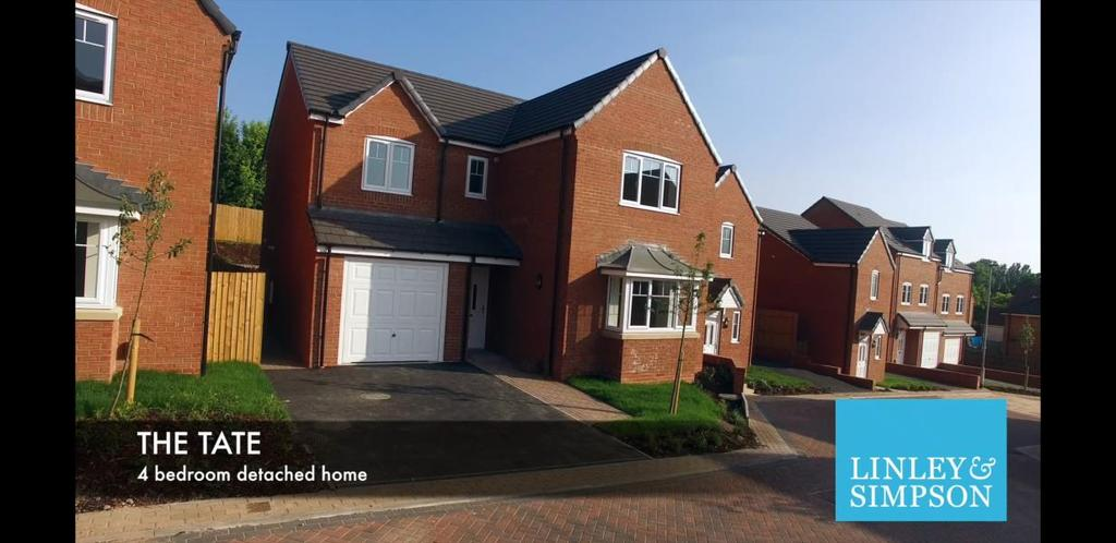4 Bedrooms Detached House for sale in Plot 9 - The Tate, Moore Park, Healdfield Court, Castleford WF10 4TU