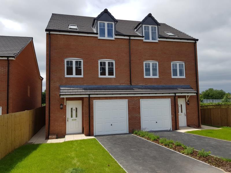 4 Bedrooms Semi Detached House for sale in PLOT 3 - THE HORTON, MOORE PARK, HEALDFIELD COURT, CASTLEFORD, WF10 4TU