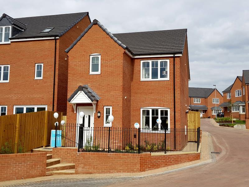 3 Bedrooms Detached House for sale in PLOT 1 - THE NEWSHAM, MOORE PARK, HEALDFIELD COURT, CASTLEFORD, WF10 4TU