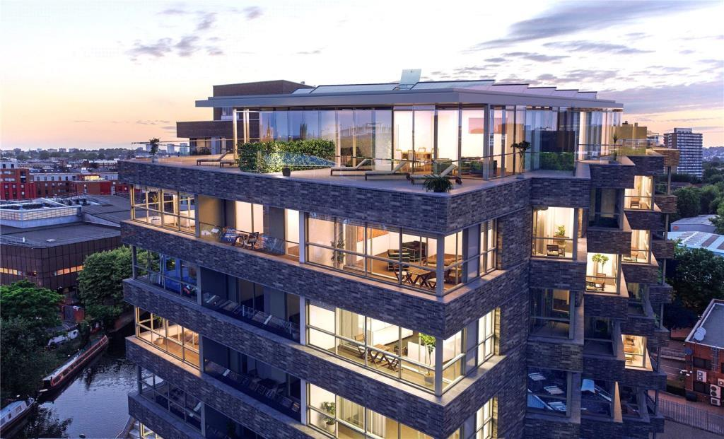 3 Bedrooms Flat for sale in Onyx Apartments, 102 Camley Street, London, N1C
