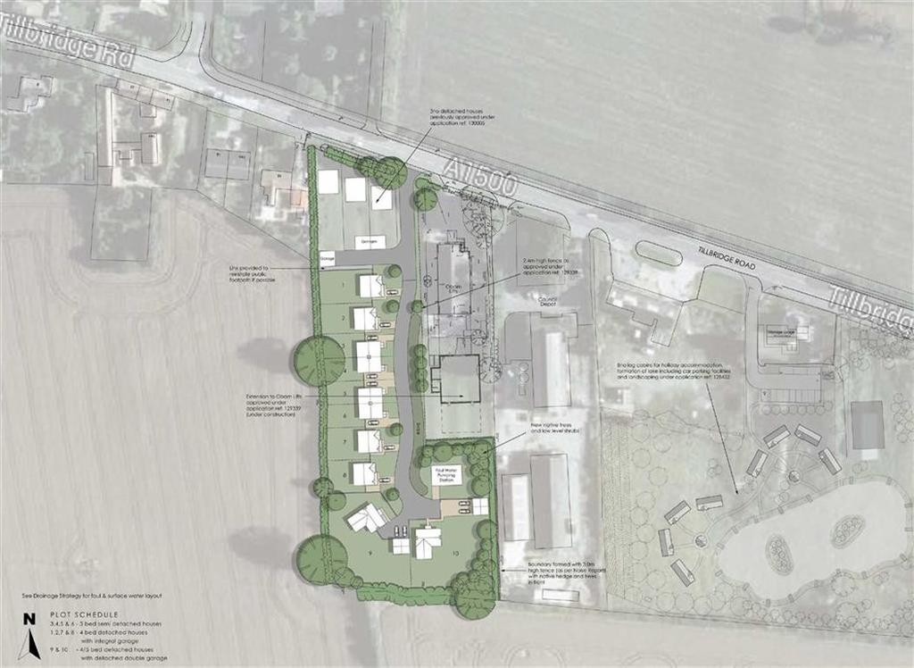 Land Commercial for sale in Of Tillbridge Road, Sturton By Stow, Lincoln, Lincolnshire