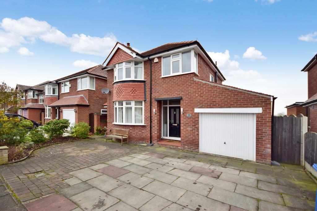 3 Bedrooms Detached House for rent in Lincoln Avenue, Heald Green