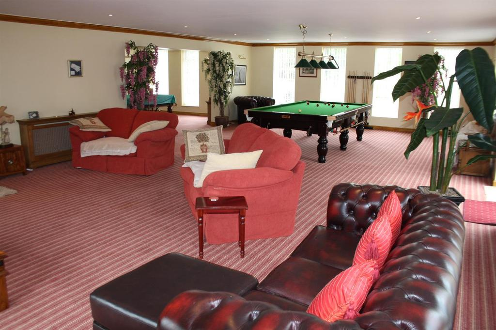 Additional games room